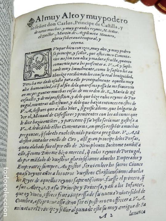 Libros antiguos: IMPORTANTE OBRA POST-INCUNABLE MANUAL DE CONFESORES Y PENITENTES - MARTÍN DE AZPILICUETA - 1565 - - Foto 9 - 109538495
