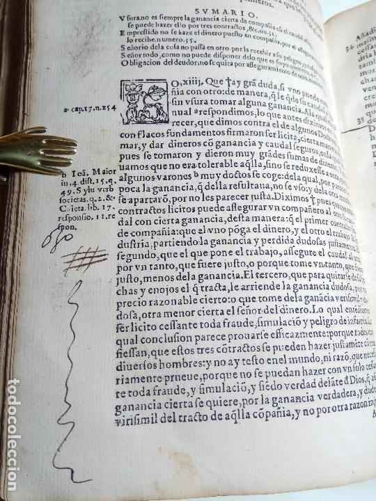 Libros antiguos: IMPORTANTE OBRA POST-INCUNABLE MANUAL DE CONFESORES Y PENITENTES - MARTÍN DE AZPILICUETA - 1565 - - Foto 10 - 109538495