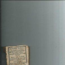 Livros antigos: MEXICO 1730 - AURORA ALEGRE ... MYSTICA CIUDAD DE DIOS ... FRANCISCO ANTONIO DE VEREO. Lote 110807659