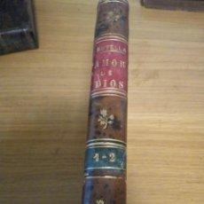 Libros antiguos: FRAY DIEGO DE ESTELLA. DEL AMOR DE DIOS. T. I. BARCELONA 1882. Lote 111437455