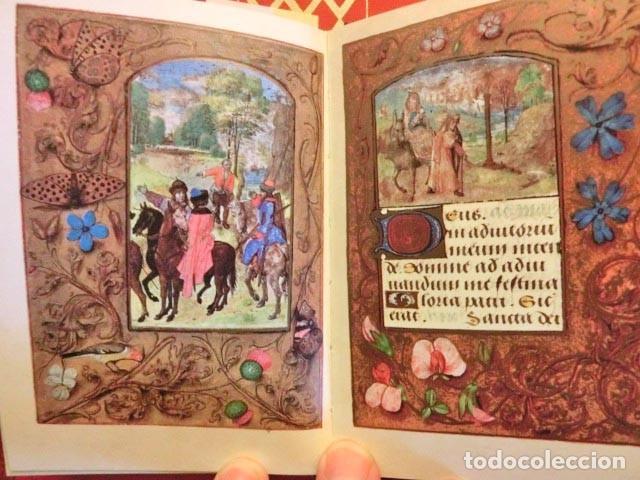 LIBRO DE HORAS DEL CONDE DE NASSAU (S. XV), MÁS DE 100 LÁMINAS EN FACSÍMIL CON ESTUDIO EN CASTELLANO (Libros Antiguos, Raros y Curiosos - Religión)