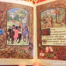Libros antiguos: LIBRO DE HORAS DEL CONDE DE NASSAU (S. XV), MÁS DE 100 LÁMINAS EN FACSÍMIL CON ESTUDIO EN CASTELLANO. Lote 118331011