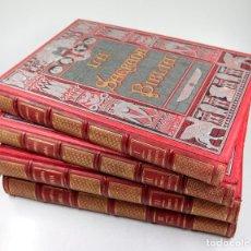 Libros antiguos: LA SAGRADA BIBLIA, 1888, FÉLIX TORRES AMAT, 4 TOMOS, ILUSTRACIONES DORÉ. 39,5X29,5CM. Lote 140257841