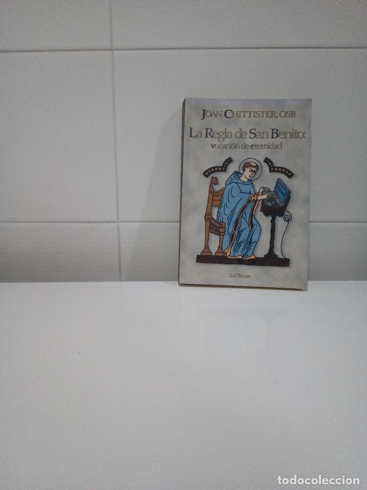 LA REGLA DE SAN BENITO VOCACION DE ETERNIDAD (Libros Antiguos, Raros y Curiosos - Religión)
