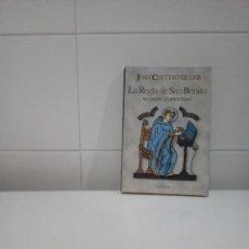 Libros antiguos: LA REGLA DE SAN BENITO VOCACION DE ETERNIDAD. Lote 111597575