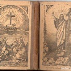 Libros antiguos: COSTA Y BORRÁS : CATECISMO DE LA DOCTRINA CRISTIANA (RIERA, 1900). Lote 111651983