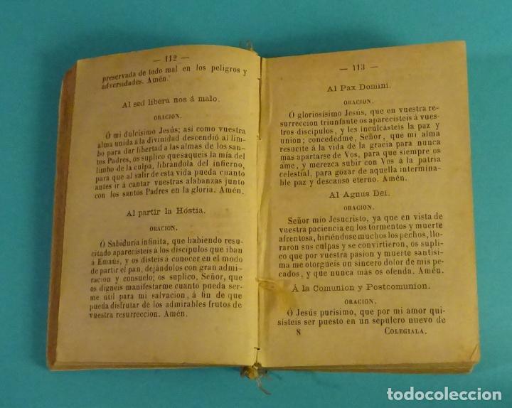 Libros antiguos: LA COLEGIALA INSTRUIDA. LIBRO UTILÍSIMO Y NECESARIO PARA LAS NIÑAS. ANTONIO MARÍA CLARET - Foto 3 - 111815139