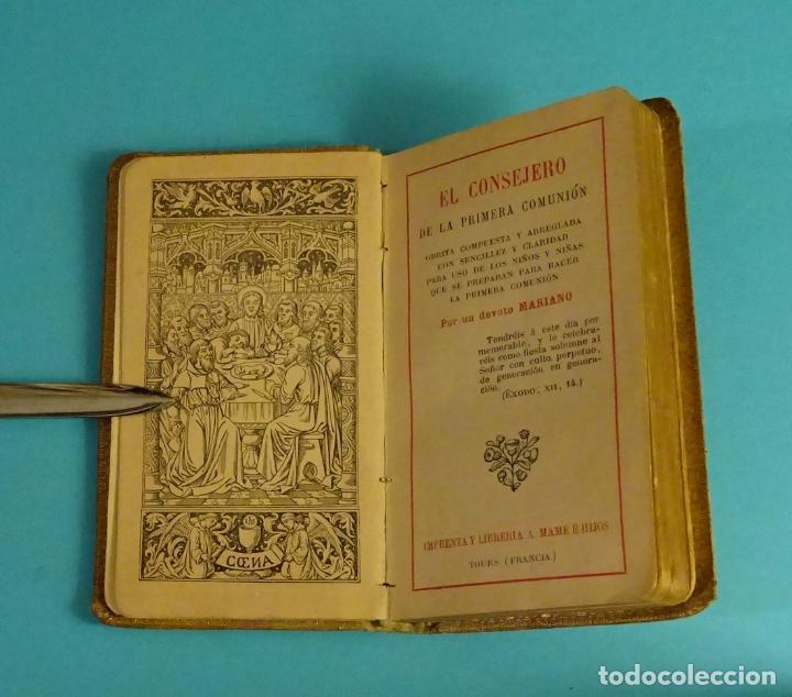 EL CONSEJERO DE LA PRIMERA COMUNIÓN (Libros Antiguos, Raros y Curiosos - Religión)