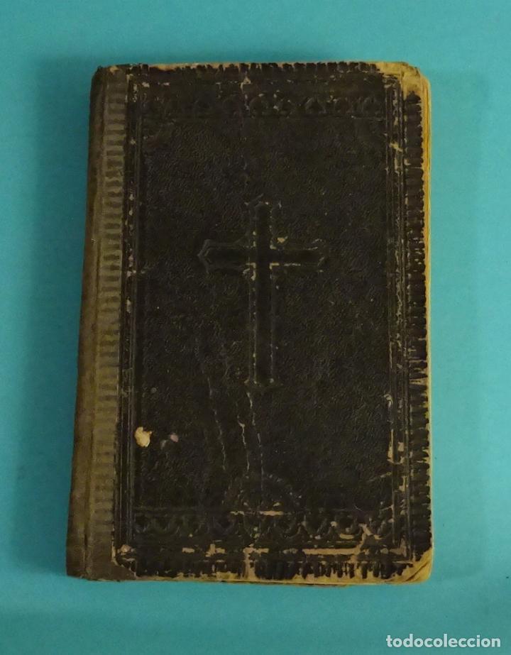 Libros antiguos: RECUERDO DEL MISIONERO O DEVOCIONARIO POPULAR SACADO EN PARTE DE LAS OBRAS DE SAN ALFONSO Mª LIGORIO - Foto 2 - 111825311