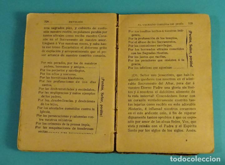 Libros antiguos: RECUERDO DEL MISIONERO O DEVOCIONARIO POPULAR SACADO EN PARTE DE LAS OBRAS DE SAN ALFONSO Mª LIGORIO - Foto 4 - 111825311