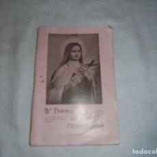 Libros antiguos: TERESA DEL NIÑO JESUS EN FRANCES.BAYEUX 1923. Lote 112471855