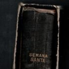 Libros antiguos: OFICIO DE SEMANA SANTA, 1907. Lote 112529924