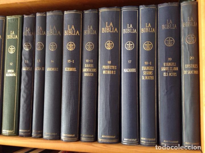 LA BIBLIA ( MONESTIR DE MONTSERRAT) (Libros Antiguos, Raros y Curiosos - Religión)