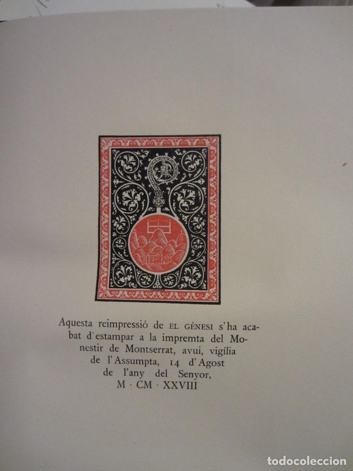 Libros antiguos: La Biblia ( Monestir de Montserrat) - Foto 4 - 112769926