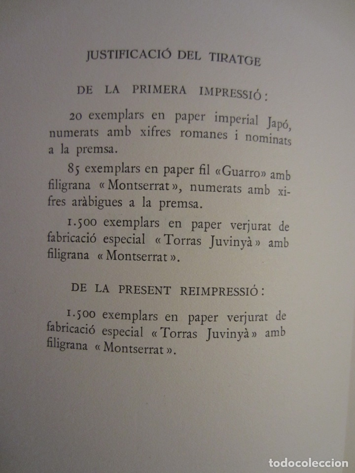 Libros antiguos: La Biblia ( Monestir de Montserrat) - Foto 5 - 112769926
