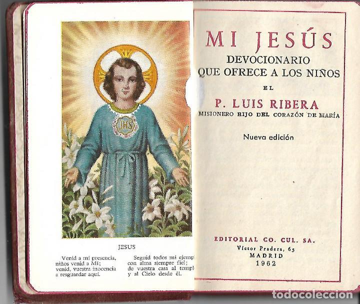 PRECIOSO Y ANTIGUO DEVOCIONARIO PARA LOS NIÑOS DE 1962 ILUSTRADO 254 PAGINAS (Libros Antiguos, Raros y Curiosos - Religión)
