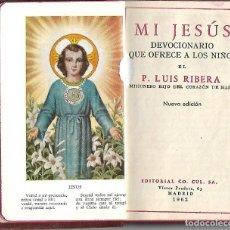 Libros antiguos: PRECIOSO Y ANTIGUO DEVOCIONARIO PARA LOS NIÑOS DE 1962 ILUSTRADO 254 PAGINAS. Lote 112960335