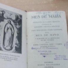 Libros antiguos: MES DE MARIA 1935. Lote 113224675