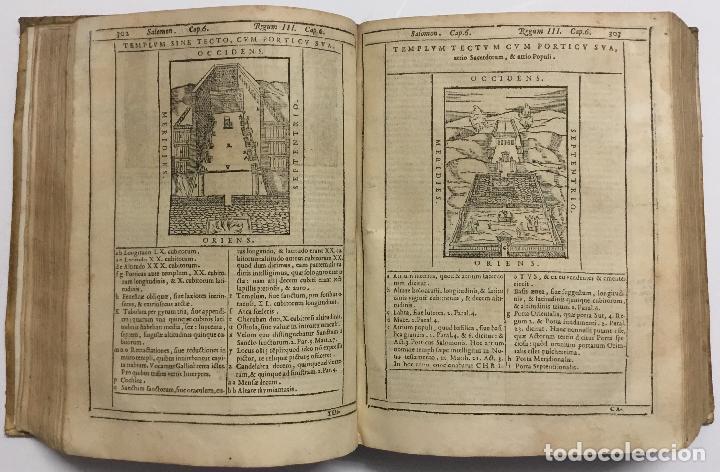 Libros antiguos: BIBLIA, AD VETUSTISSIMA EXEMPLARIA nunc recens castigata. VENECIA, 1599. CON GRABADOS EN EL TEXTO. - Foto 14 - 109021794