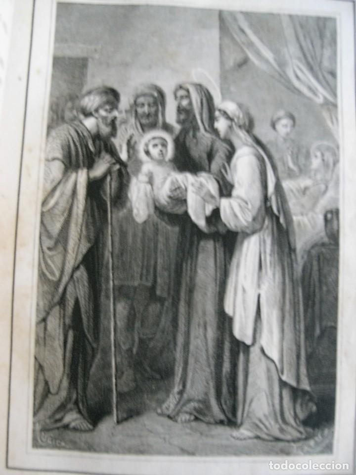 Libros antiguos: EL MARTIR DEL GOLGOTA.PEREZ ESCRICH,1866, COMPLETA EN DOS TOMOS, TRADICIONES ORIENTE 2ª EDIC. - Foto 7 - 113509703
