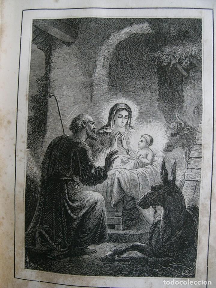 Libros antiguos: EL MARTIR DEL GOLGOTA.PEREZ ESCRICH,1866, COMPLETA EN DOS TOMOS, TRADICIONES ORIENTE 2ª EDIC. - Foto 8 - 113509703