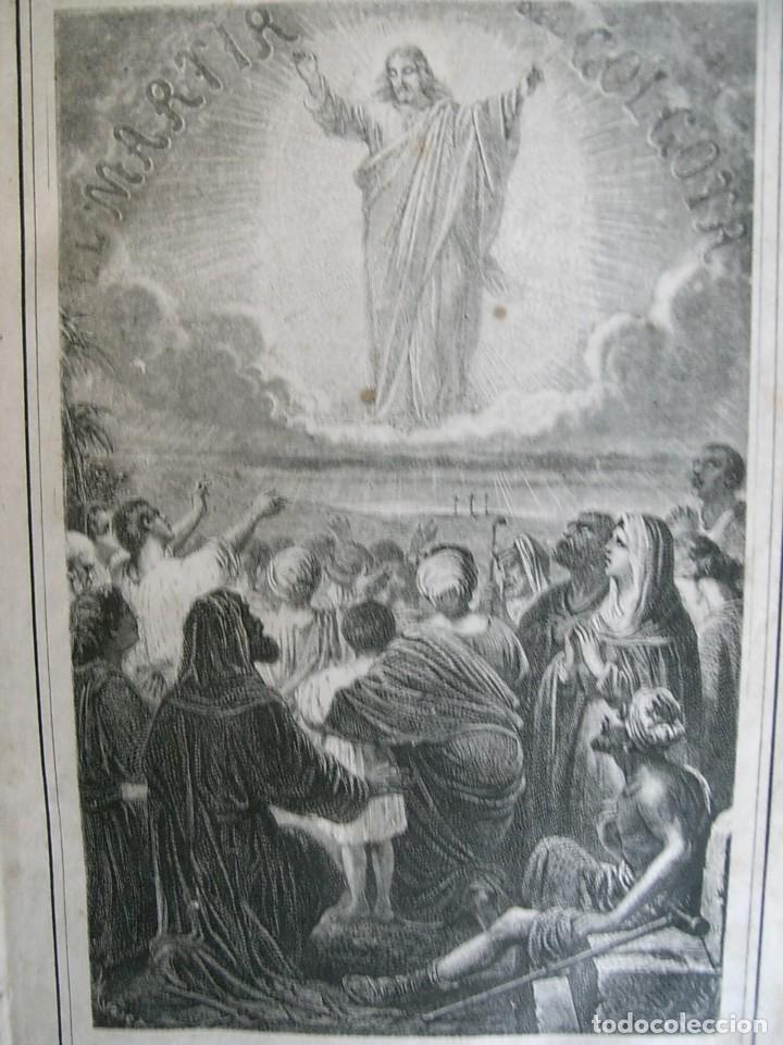Libros antiguos: EL MARTIR DEL GOLGOTA.PEREZ ESCRICH,1866, COMPLETA EN DOS TOMOS, TRADICIONES ORIENTE 2ª EDIC. - Foto 10 - 113509703