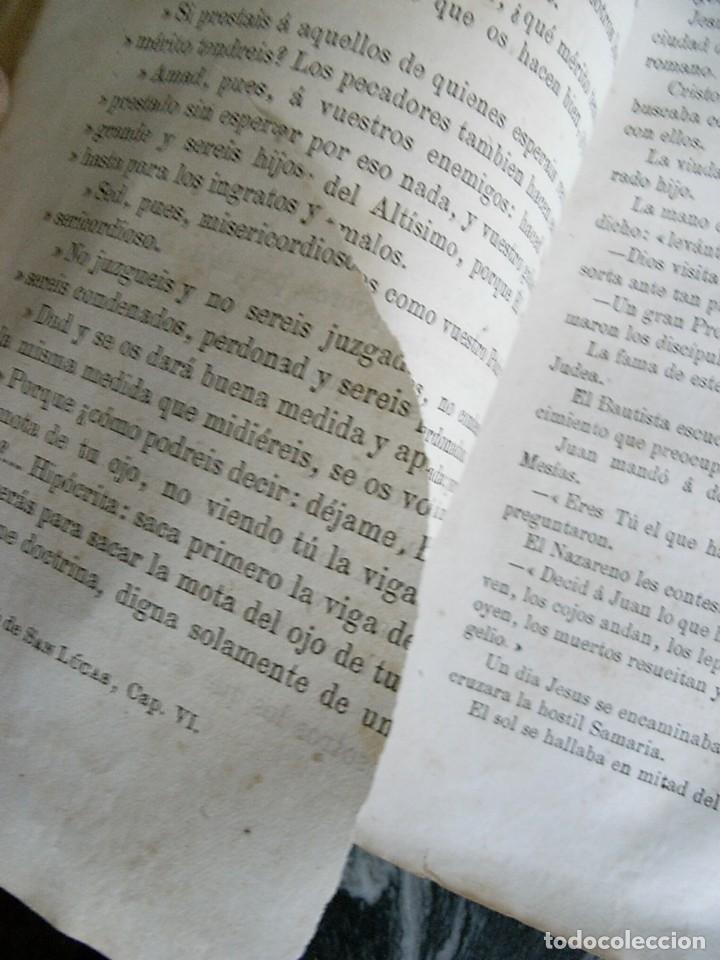 Libros antiguos: EL MARTIR DEL GOLGOTA.PEREZ ESCRICH,1866, COMPLETA EN DOS TOMOS, TRADICIONES ORIENTE 2ª EDIC. - Foto 11 - 113509703