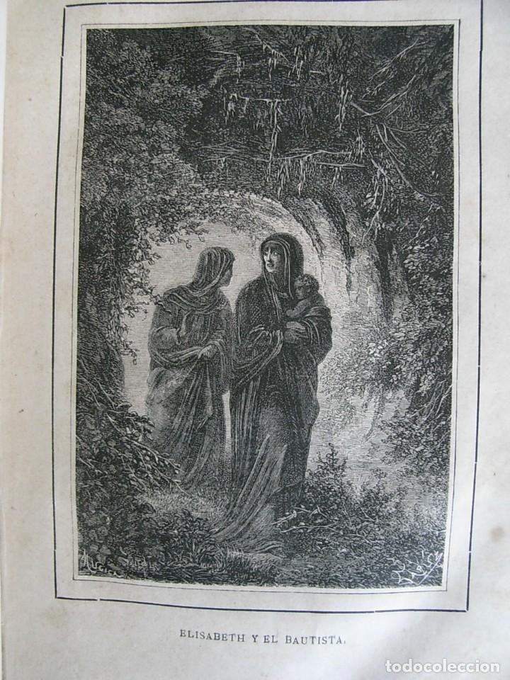 Libros antiguos: EL MARTIR DEL GOLGOTA.PEREZ ESCRICH,1866, COMPLETA EN DOS TOMOS, TRADICIONES ORIENTE 2ª EDIC. - Foto 12 - 113509703