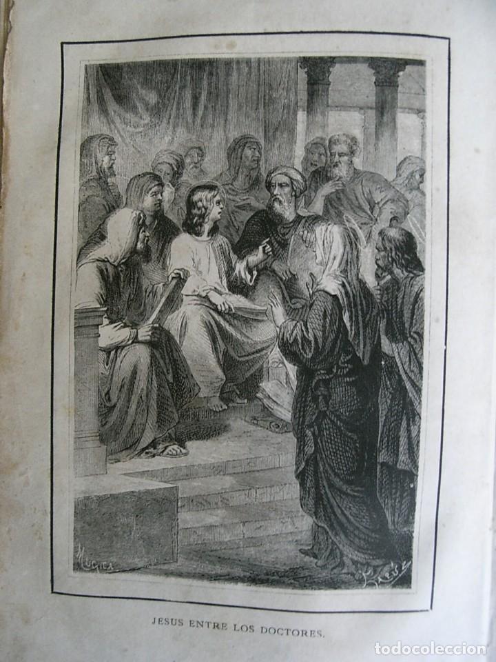 Libros antiguos: EL MARTIR DEL GOLGOTA.PEREZ ESCRICH,1866, COMPLETA EN DOS TOMOS, TRADICIONES ORIENTE 2ª EDIC. - Foto 13 - 113509703