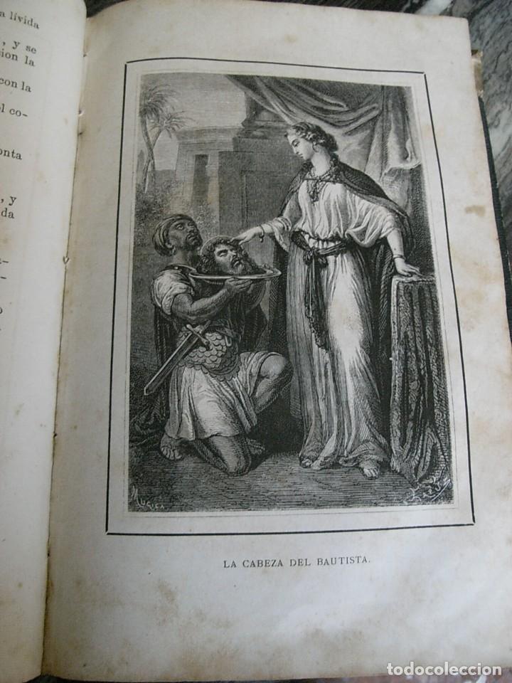 Libros antiguos: EL MARTIR DEL GOLGOTA.PEREZ ESCRICH,1866, COMPLETA EN DOS TOMOS, TRADICIONES ORIENTE 2ª EDIC. - Foto 14 - 113509703