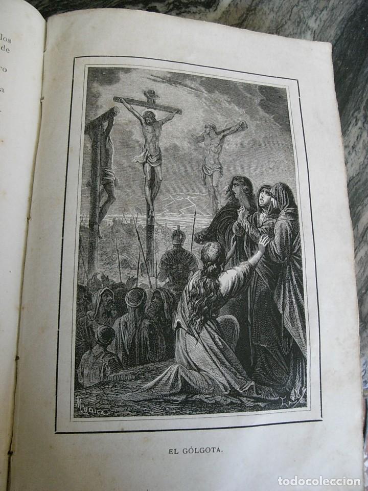 Libros antiguos: EL MARTIR DEL GOLGOTA.PEREZ ESCRICH,1866, COMPLETA EN DOS TOMOS, TRADICIONES ORIENTE 2ª EDIC. - Foto 15 - 113509703