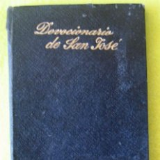 Libros antiguos: DEVOCIONARIO EN HONOR AL PATRIARCA SAN JOSÉ -FRANCISCO DE P. GARZÓN (1921). Lote 114249819