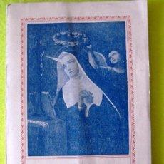 Libros antiguos: VIDA DE SANTA RITA. Lote 114249943