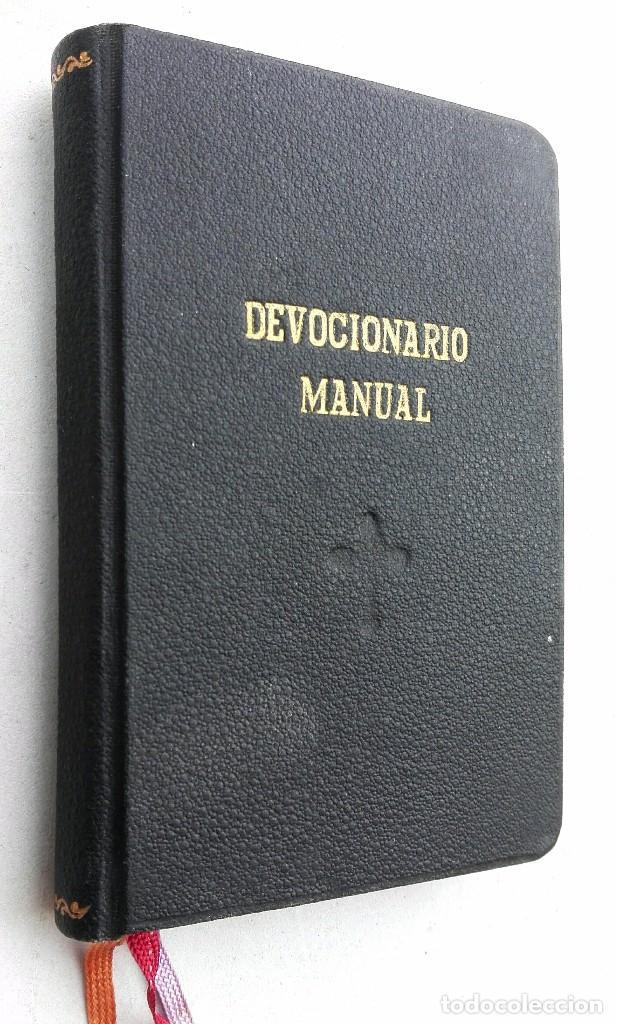 DEVOCIONARIO MANUAL *** AÑO 1927 (Libros Antiguos, Raros y Curiosos - Religión)