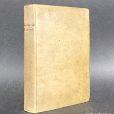 Libros antiguos: 1802 MARTYROLOGIUM ROMANUM - PERGAMINO - . Lote 115208479