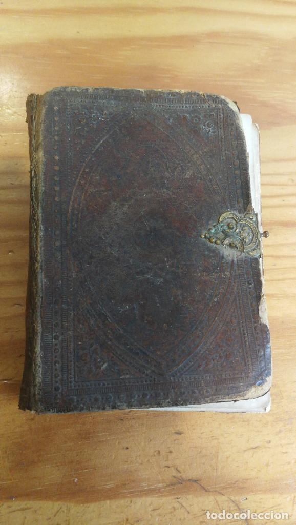 ANCORA DEL CRISTIANO POR P.BERNARDO DE LA CRUZ, 1.866. (Libros Antiguos, Raros y Curiosos - Religión)