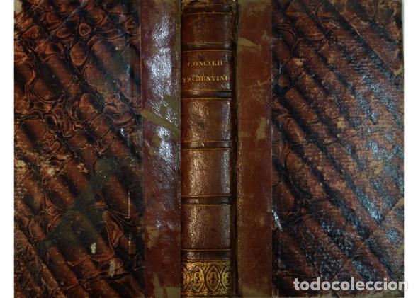CONCILIO DE TRENTO. SACROSANCTI ET OECUMENICI CONCILII TRIDENTINI...CANONES ET DECRETA. AMBERES,1677 (Libros Antiguos, Raros y Curiosos - Religión)