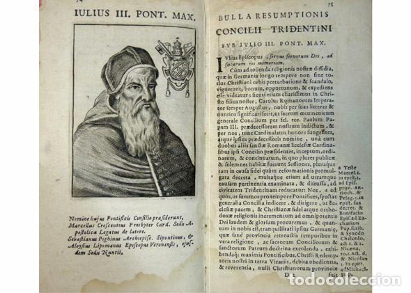 Libros antiguos: CONCILIO DE TRENTO. Sacrosancti et Oecumenici Concilii Tridentini...Canones et Decreta. Amberes,1677 - Foto 4 - 115660219