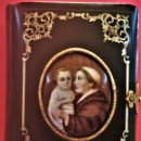 Libros antiguos: RELIGION,MISAL SIGLO XIX,SAN ANTONIO DE PADUA Y NIÑO JESUS,AÑO 1855, PINTURA ORIGINAL,PLATA Y CAREY. Lote 116116659