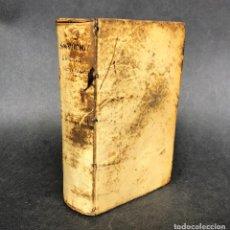 Libros antiguos: 1694 FRIDERICI SPANHEMII F. CONTROVERSIARUM DE RELIGIONE - PERGAMINO - . Lote 116178143