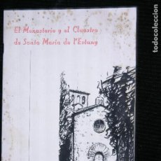 Libros antiguos: F1 EL MONASTERIO DE MONTSERRAT Y EL CLAUSTRO DE SANTA MARIA DEL ESTANY E.JUNYENT PBRO. Lote 116320191