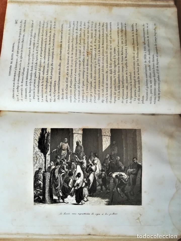 Libros antiguos: LIBRO SIGLOXIX,LOS FRAILES Y SUS CONVENTOS,AÑO 1851,TOMOII,HOGUERA CABALLEROS TEMPLARIOS,INQUISICION - Foto 9 - 116364059