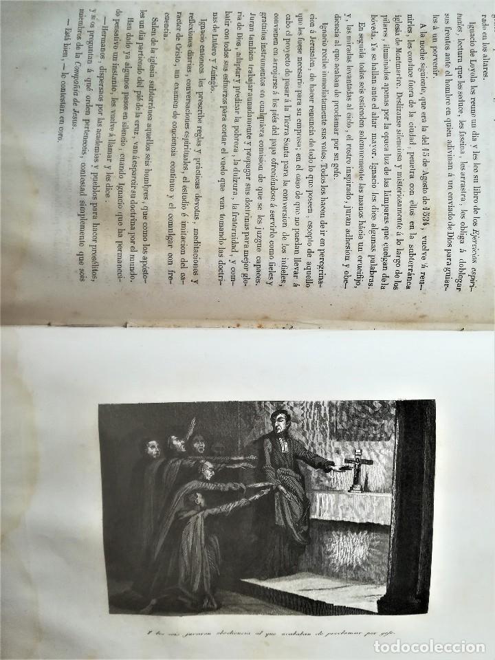 Libros antiguos: LIBRO SIGLOXIX,LOS FRAILES Y SUS CONVENTOS,AÑO 1851,TOMOII,HOGUERA CABALLEROS TEMPLARIOS,INQUISICION - Foto 10 - 116364059