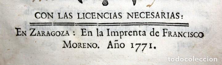 Libros antiguos: LA PAZ INTERIOR POR AMBROSIO DE LOMBEZ . IMPRENTA DE FRANCISCO MORENO DEL AÑO 1771 - Foto 6 - 116647767