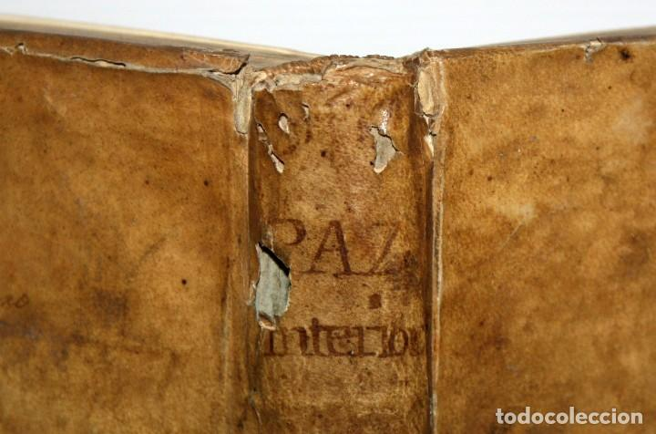 Libros antiguos: LA PAZ INTERIOR POR AMBROSIO DE LOMBEZ . IMPRENTA DE FRANCISCO MORENO DEL AÑO 1771 - Foto 9 - 116647767
