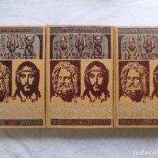 Libros antiguos: LIBRERIA GHOTICA. TACCHI VENTURI. HISTORIA DE LAS RELIGIONES. 1947. 3 VOLUMENES EN FOLIO. ILUSTRADO.. Lote 116781135