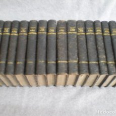 Libros antiguos: AÑO CRISTIANO COMPLETO, 16 TOMOS: 12 MESES + 4 DOMINICAS. JUAN CROISSET. BARCELONA 1882. Lote 116900375