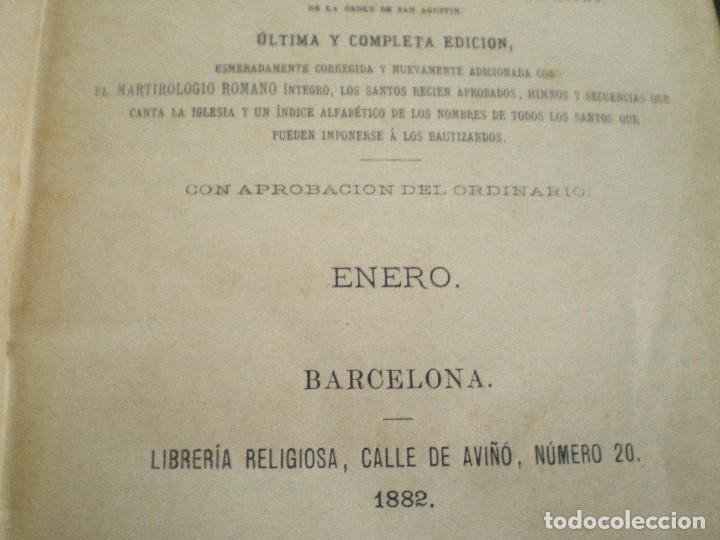 Libros antiguos: AÑO CRISTIANO COMPLETO, 16 TOMOS: 12 MESES + 4 DOMINICAS. JUAN CROISSET. BARCELONA 1882 - Foto 14 - 116900375