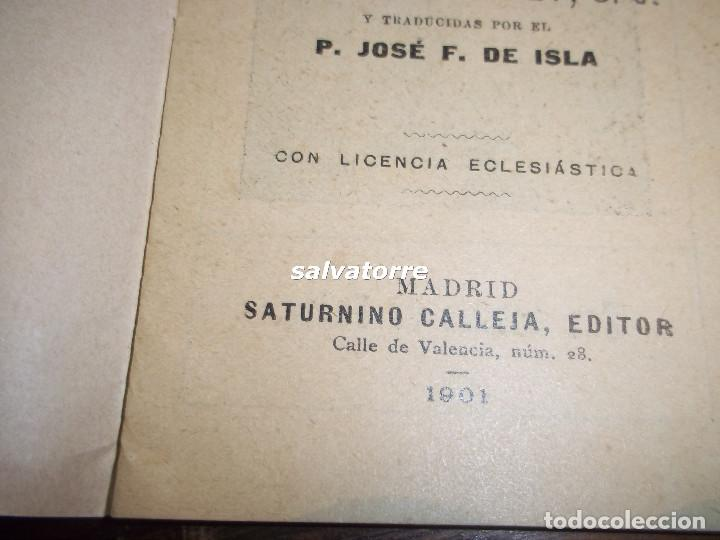 Libros antiguos: FLORES CELESTES.VIDA DE SAN ANTONIO DE PADUA.EDITORIAL CALLEJA.1901 - Foto 2 - 117190739