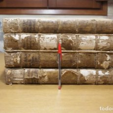 Libros antiguos: 4 LIBROS SIGLO XVI. PERGAMINO. D. IOANNIS CHRYSOSTOMI ARCHIEPISCOPI CONSTANTINOPOLITANI OPERUM. Lote 118003707